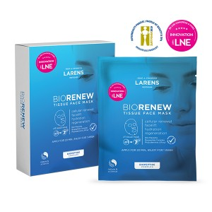 Larens BIO Renew Tissue Face Mask - 4 sztuki
